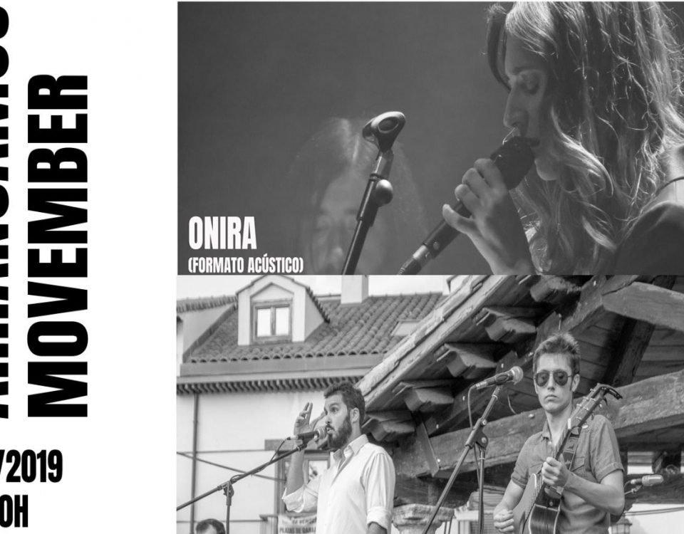 concierto solidario movember en La Piel del Oso 1 de noviembre 2019